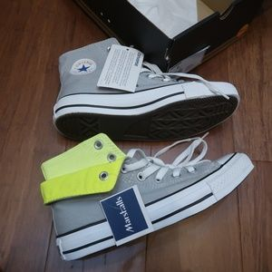Unisex Two Fold High MIrage Gray Converse Sneakers